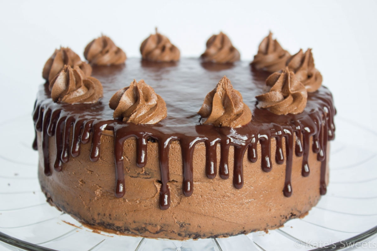 Mocha Chocolate Cake - Kate's Sweets