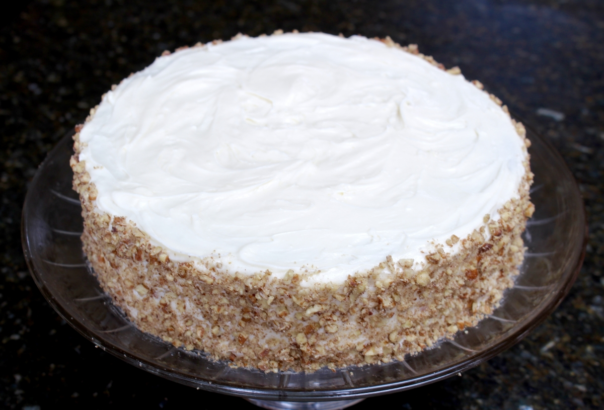 Carrot Cake with Maple-Cream Cheese Frosting - Kate's Sweets